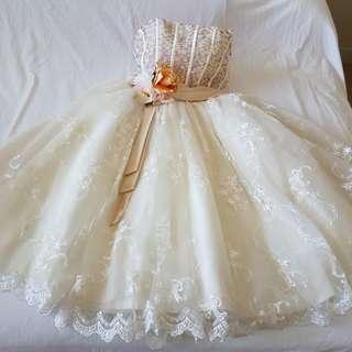 Ivory White Short Wedding Dress