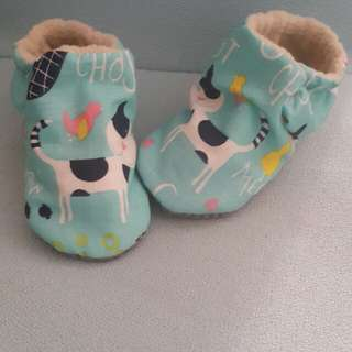 Baby pre walker shoe (handmade) high cut