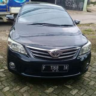 Toyota altis manual 2011