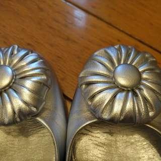 Bally銀色女鞋
