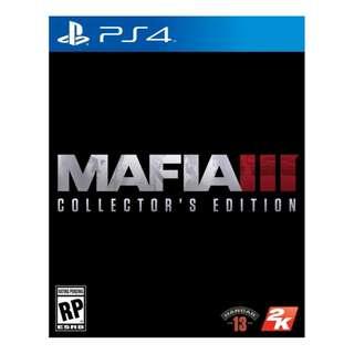 PS4 MAFIA III COLLECTOR EDT
