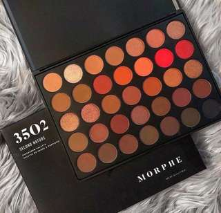 Authentic 35O2 Second Nature Eyeshadow Palette