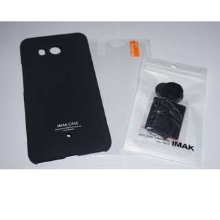 Imak Cowboy Quicksand Hard Case for htc u11 (Black)