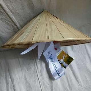Kids Vietnamese straw hat
