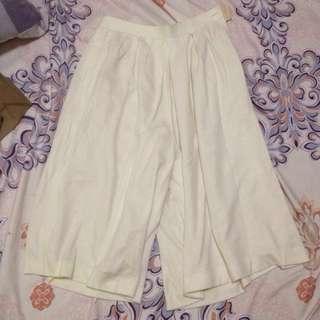 Cream Culottes