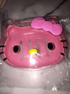 Instock new hello kitty soap holder