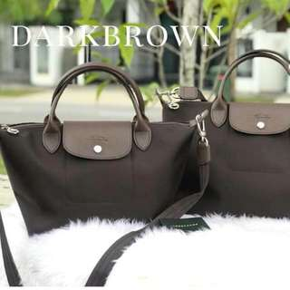 Longchamp Neo Dark Brown (Medium)