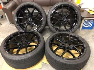 "Used 20"" Rims & tyres from BMW F10 ( sold )"