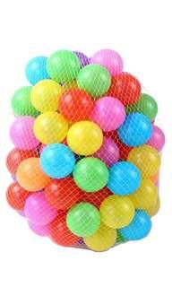 BN swimming pit balls