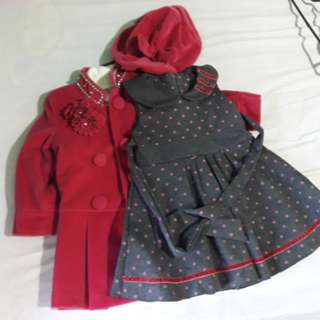 Dress with Coat and Hat | 2t