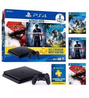 [PO] #1033 PS4 Slim 500GB Bundle