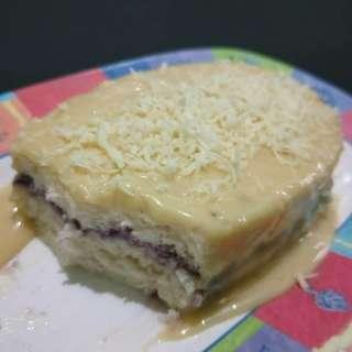 YEMA CAKE WITH UBE FILLING