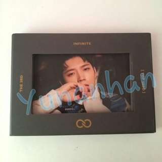 Woo Hyun Top Seed Set Album Infinite 3rd Album