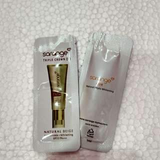 Sarange bb cream & eye serum
