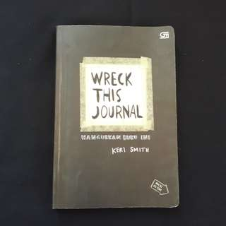 BRAND NEW • WRECK THIS JOURNAL INDONESIA VERSION (SOFT COVER)
