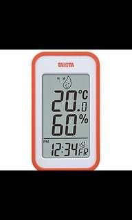 TANITA 濕度溫度計🌡️💧