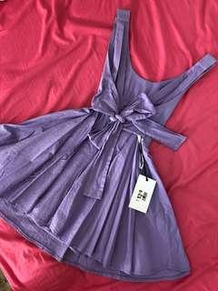 Mooloola Bow Tie Backless Dress