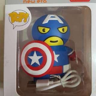 Captain america powerbank