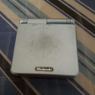 Used Gameboy Advance SP with pokemon firered