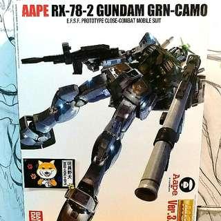 Bathing Ape x Gundum RX-78-2
