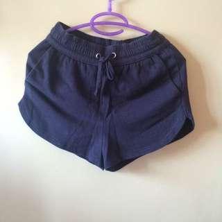 H&M dark blue shorts