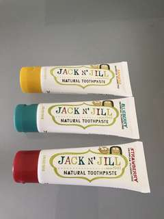 Jack & Jill Natural Toothpaste