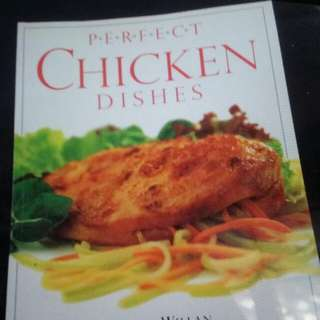 Chicken dishes cooking book