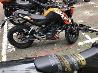 KTM Duke 200: 2015 model well looked after.