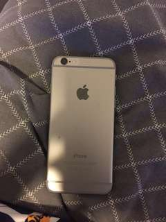 iphone 6.  60 GB highly smashed but still works fine