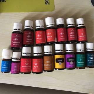 Prediluted essential oil blends