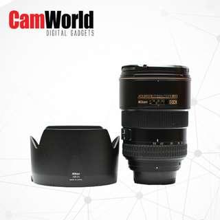 Nikon 17-55mm F2.8 G ED