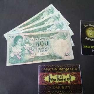 500 rupiah seri konde