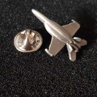 Flighter aircraft pin