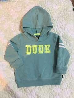 baby B'Gosh hoodie (12 mos)