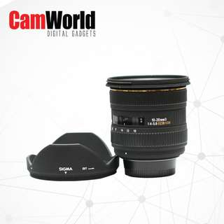 Sigma 10-20mm for NIKON