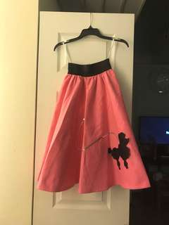 Poodle Skirt for 50s costume