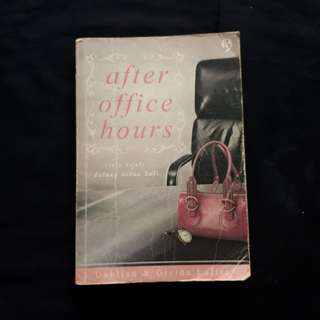 Novel After Office Hours by Dahlian & Gielda Lafita