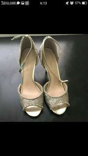 Charles&keith sequined sandals