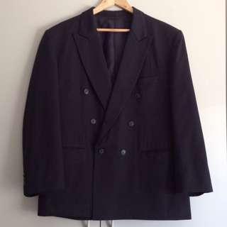 Mid 90's Tailored Jacket in Night Black (Vintage)