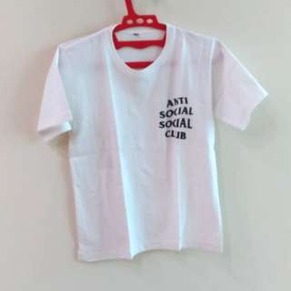 Anti Social Social Club (ASSC) White T-shirt #diskonnih