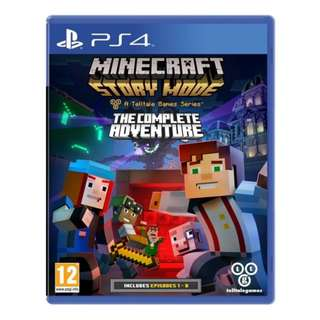 PS4 MINECRAFT: STORY MODE THE COMPLETE ADVENTURE