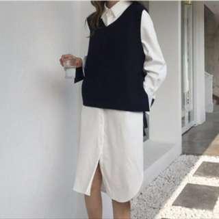 降價出清‼️白色襯衣(不含深藍的那件唷!)