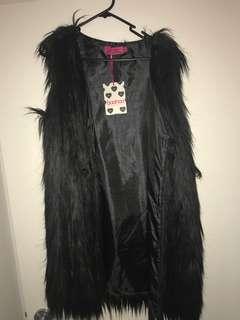Boohoo Fur Jacket