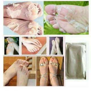 ➡Pink foot care mask.. ➡foot care mask.. ➡hunger for a baby feet softness ➡50