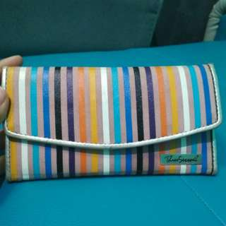 turun harga!! ORI Three Second dompet rainbow