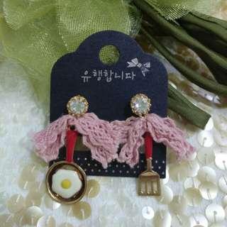 🚚 正韓Korea(買五送一)# Buy five get one AB抗敏 耳環 Anti-allergic earrings#免運#free shopping