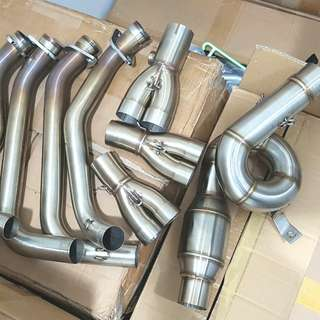 Raven z900 fullsystem stainless steel spiral power header Used 1 week only Normal rm1950 Now only rm1500 let go! 1 set Only! Wasap 0126135416 or pm