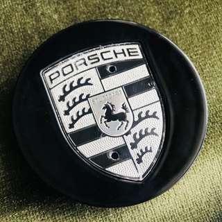 Porsche wheels center caps Silver Edition