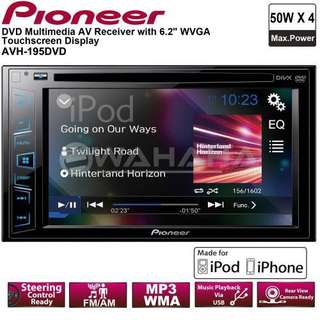 BNIB pioneer double din car DVD player