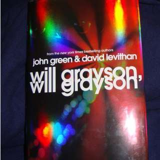 Will Grayson, Will Grayson (Young Adult Novel)